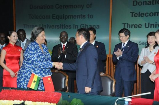 China  Offers Ghana Loans to Strengthen its Economy