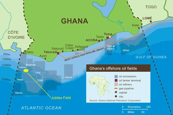 Anadarko Announces Discovery Offshore GhanaSource: Anadarko Petroleum Corporation